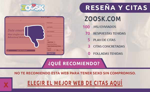 ¿ Es Zoosk funciona?
